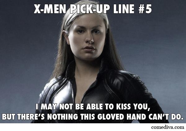 X-Men Pick-Up Lines - Comediva